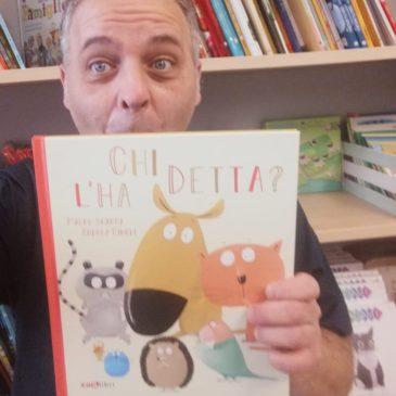 Chi l'ha detta? Il nuovo libro di Mauro Scarpa per Zoolibri è qui!